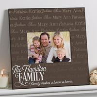 Family is Love 5-Inch x 7-Inch Wall Picture Frame