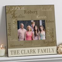 Repeating Names 5-Inch x 7-Inch Wall Picture Frame