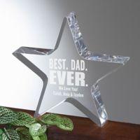 Best Dad Ever Award