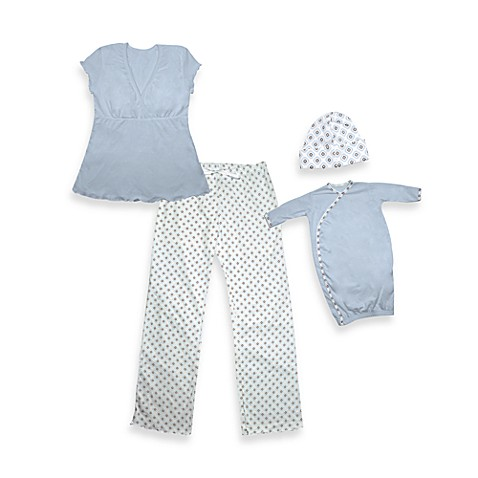 i play.® Small/Medium Mommy & Me Pajamas in Blue