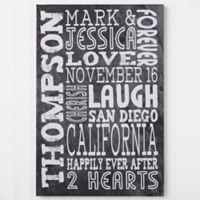 Just Us Canvas Wall Art