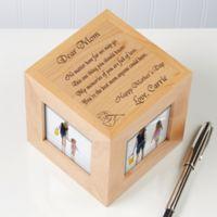 Dear Mom Poem 4-Photo 2.5-Inch x 2.5-Inch Photo Cube
