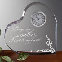 Loving Mother Heart Clock