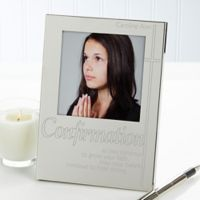 Confirmation 4.5-Inch x 6.5-Inch Picture Frame in Silver
