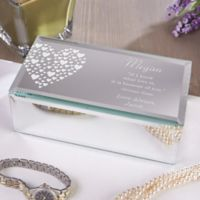 Love Is Kind Small Engraved Mirrored Storage Box