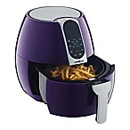 GoWISE USA® 3.7 qt. Digital Air Fryer with 8 Presets in Plum