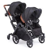 Contours® Curve Double Stroller in Jet Black