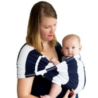 Baby K'tan® Print Extra Extra Small Striped Baby Carrier in Navy/White