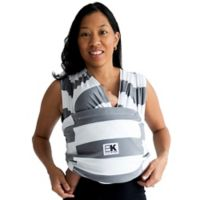 Baby K'tan® Print Extra Extra Small Striped Baby Carrier in Grey/White