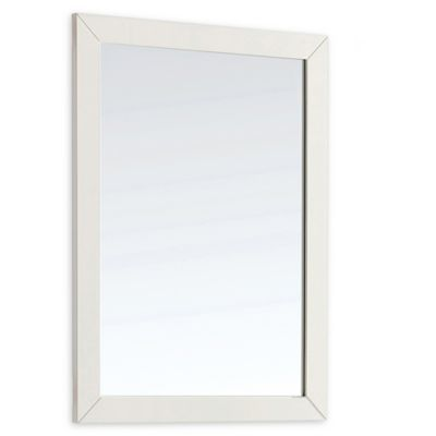 Buy White Framed Bathroom Mirror from Bed Bath & Beyond on white mirror with ledge, white painted mirror in bathroom, white decorative bathroom mirrors, dark frame bathroom mirrors, white framed bathroom mirrors, white square bathroom mirror, white framed mirror 18 x 30,