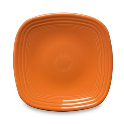 Fiesta® Square Luncheon Plate in Tangerine  sc 1 st  Bed Bath \u0026 Beyond & Buy Fiesta® Square Plates from Bed Bath \u0026 Beyond