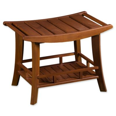 Buy Teak Shower Seat for Bath from Bed Bath & Beyond