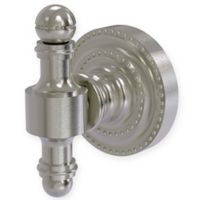 Allied Brass Retro Dot Robe Hook in Satin Nickel