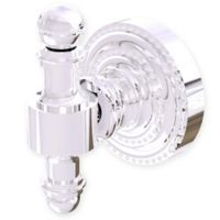 Allied Brass Retro Dot Robe Hook in Polished Chrome