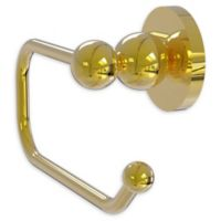 Allied Brass Bolero Euro Toilet Paper Holder in Polished Brass