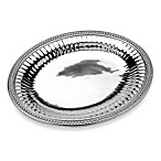 Wilton Armetale® Flutes & Pearls ™ Large Oval Tray