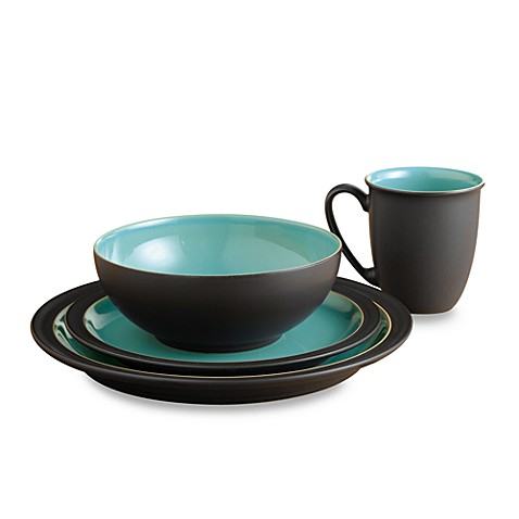 Denby Duets Dinnerware in Brown/Turquoise  sc 1 st  Bed Bath \u0026 Beyond & Denby Duets Dinnerware in Brown/Turquoise - Bed Bath \u0026 Beyond
