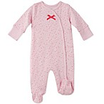 Absorba Size 3-6M Star Footie in Pink