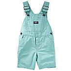 OshKosh B'gosh® Size 12-18M Canvas Shortall in Mint