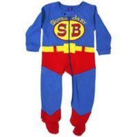 b26da7121893 Sozo® Size 3-6M Super Baby Footed Romper in Red Blue