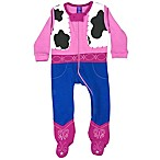 Sozo® Size 0-3M Cowgirl Footed Romper in Pink
