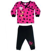 Sozo® Size 4T 2-Piece Ladybug Long Pajamas