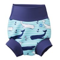 Splash About Size 12-24M Happy Nappy™ Vintage Moby Swim Diaper in Blue
