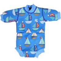Splash About Size 12-24M Happy Nappy™ Set Sail Wetsuit in Blue