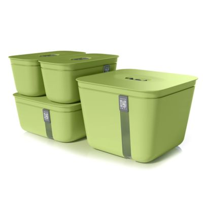 Hamilton Beach® Vacuvita® 4 Piece Vacuum Container Set In Green