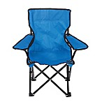 Pacific Play Tents Outdoor Super Chair for Kids in Sapphire Blue