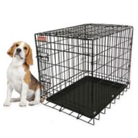 Coleman® 1-Door Pet Crate in Black
