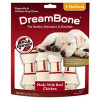 DreamBone 4-Pack Medium Chicken Chews