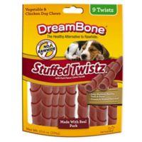 DreamBone 9-Pack Stuffed Twist-Pork Treats
