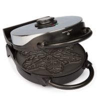 CucinaPro Snowflake Nonstick Stainless Steel Waffle Maker