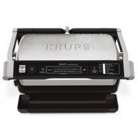 Krups™ Precision Indoor Electric Grill in Stainless Steel