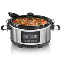 Hamilton Beach® Programmable Stay or Go® 5 qt. Slow Cooker