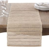 Saro Lifestyle 72-Inch Emiliana Table Runner in Natural