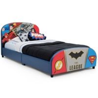 Justice League Upholstered Twin Bed