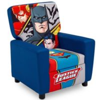 Justic League Upholstered High Back Chair