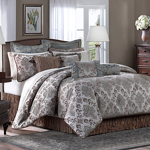 Robert allen home anatole comforter set bed bath beyond - Bed bath and beyond bedroom furniture ...