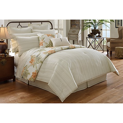 Tommy bahama home abacos island comforter set 100 cotton bed bath beyond Bahama home decor for sale