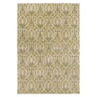 Surya Modern Classics 9' x 13' Vine Hancrafted Area Rug in Lime/Cream