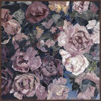 Marmont Hill Peachy Petals 16-Inch Square Framed Wall Art