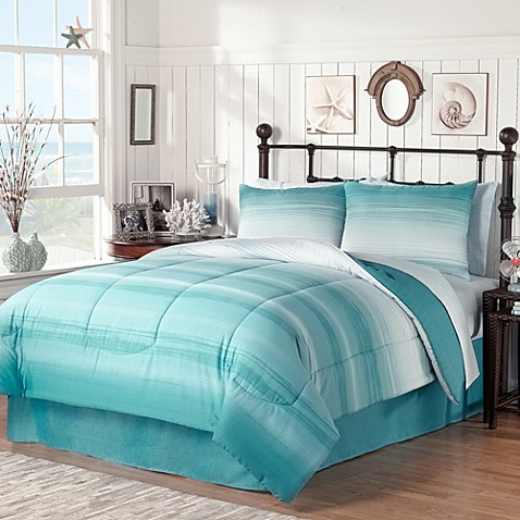 Ocean Complete Bed Ensemble Bed Bath Amp Beyond