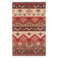 Surya Jewel Tone Southwest 9' x 13' Handcrafted Area Rug in Khaki