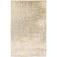 Surya Watercolor 2' x 3' Handcrafted Accent Rug in Ivory