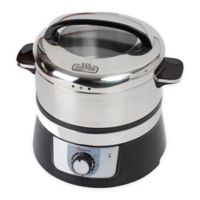 Euro Cuisine® 3.2-Liter Stainless Steel Electric Food Steamer