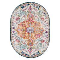 Surya Harput Vintage 6'7 x 9' Oval Multicolor Area Rug