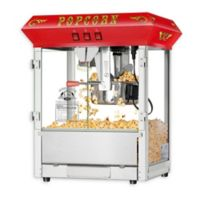 Superior Popcorn Company Hot and Fresh Countertop Style Popper in Red