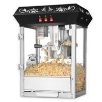 Superior Popcorn Company Countertop Popcorn Machine in Black